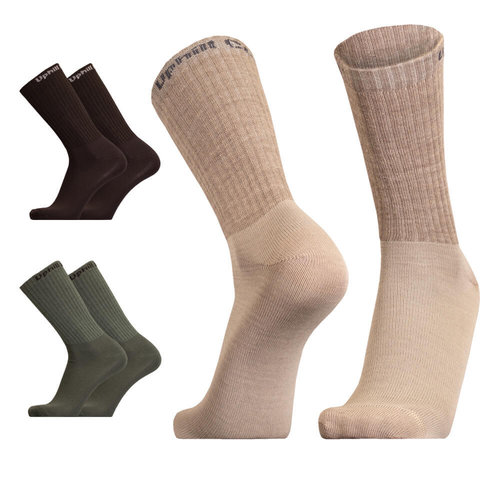 UphillSport Combat Tactical 3-Layer L4 Duratech sock with Merino
